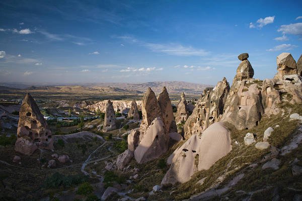 Nevsehir Photograph - Landscape Of Tufa Soft Rock Formed From by Tim Gerard Barker