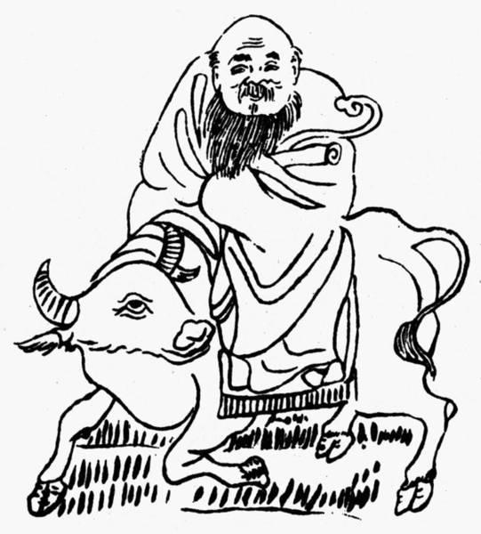 Wall Art - Drawing - Lao-tzu (c604-531 B by Granger