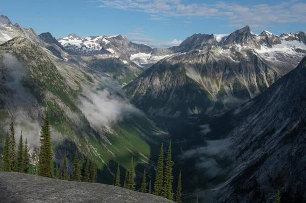 Bugaboo Photograph - Large Valley With No Human Development by Topher Donahue