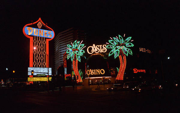 Photograph - Las Vegas 1983 #2 by Frank Romeo