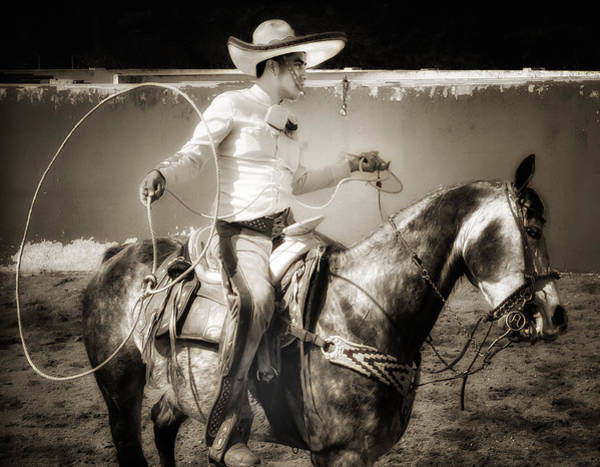 Photograph - Lasso Artist by Barry Weiss