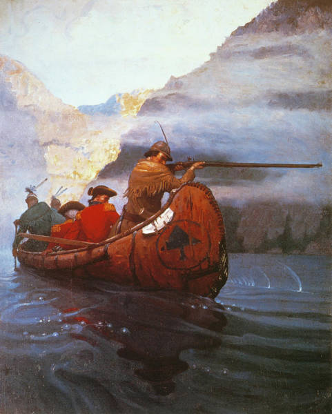Drawing - Last Of The Mohicans, 1919 by Granger