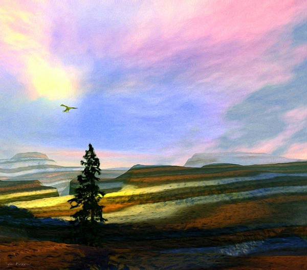 Painting - Last Tree Standing by Tyler Robbins