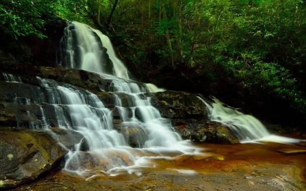 Photograph - Laurel Falls by Walt Sterneman