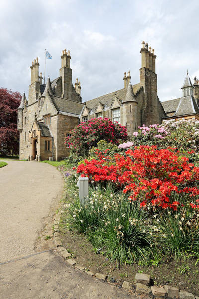 Photograph - Lauriston Castle by Grant Glendinning
