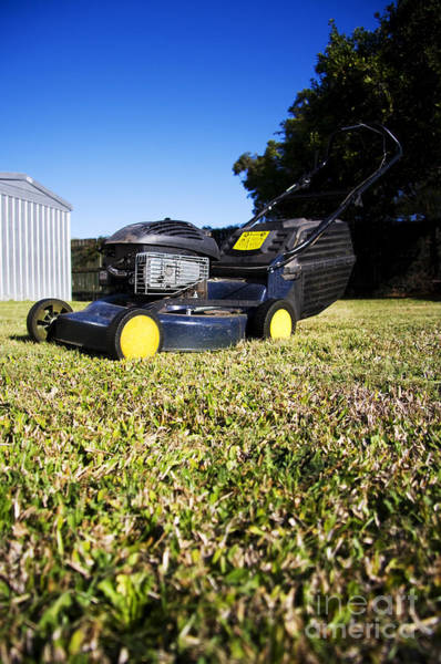 Blades Photograph - Lawn Mower by Jorgo Photography - Wall Art Gallery