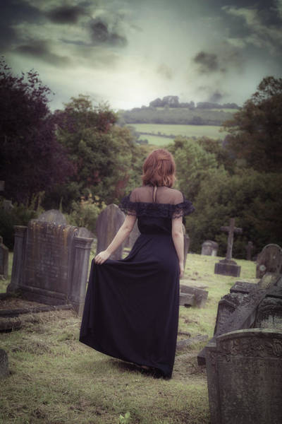 Beautiful Woman Photograph - Left Alone by Joana Kruse