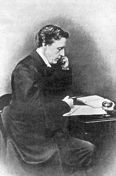 Wall Art - Photograph - Lewis Carroll Alias Charles Lutwidge by Mary Evans Picture Library