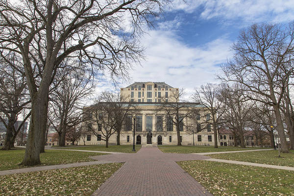 Ohio State University Photograph - Library Ohio State University  by John McGraw