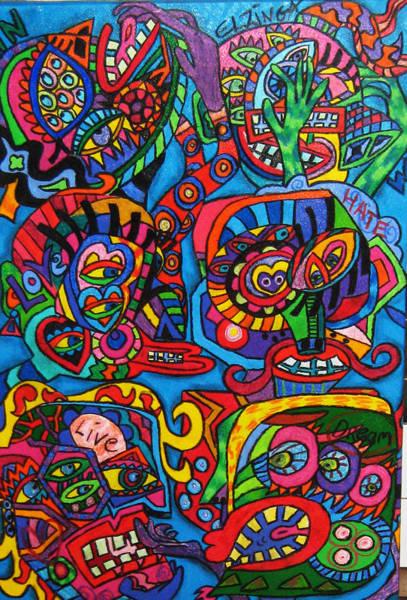 Wall Art - Painting - Life by Karen Elzinga