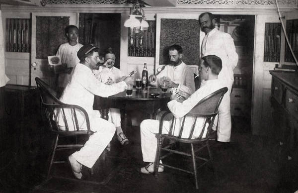 Photograph - Life On Naval Ship, C1885 by Granger
