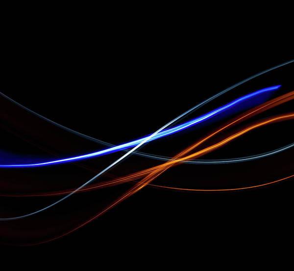Light Photograph - Light Effect by Level1studio