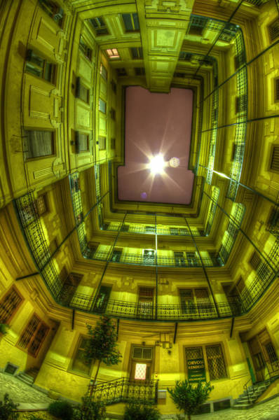 Eastern Europe Digital Art - Light From Above by Nathan Wright