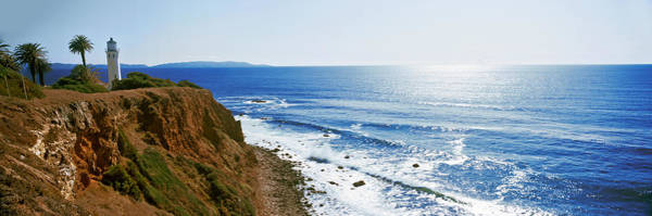 Point Vicente Wall Art - Photograph - Lighthouse At A Coast, Point Vicente by Panoramic Images