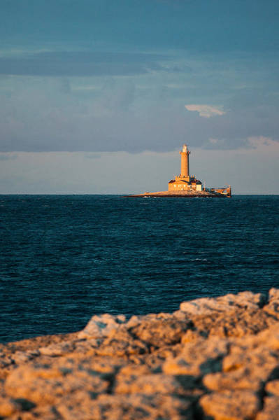 Adriatic Wall Art - Photograph - Lighthouse by Davorin Mance