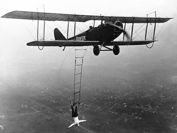 Photograph - Lillian Boyer, American Daredevil Wing by Science Source