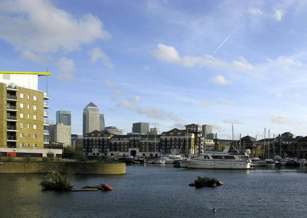 Photograph - Limehouse Basin by Helene U Taylor