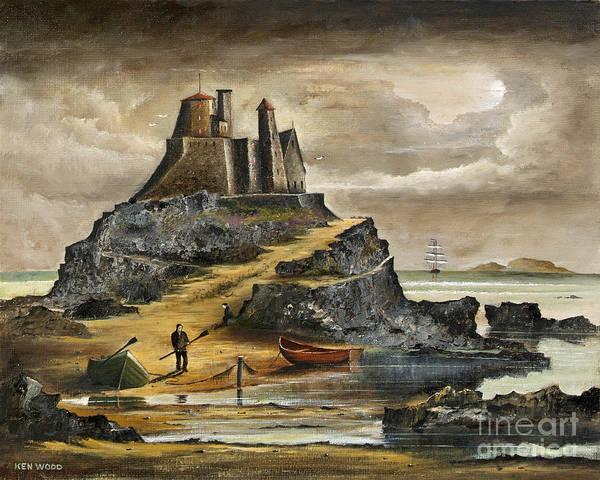 Painting - Lindisfarne 2 by Ken Wood