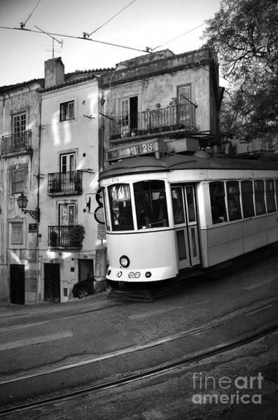 Trolley Car Wall Art - Photograph - Lisbon Tram by Carlos Caetano