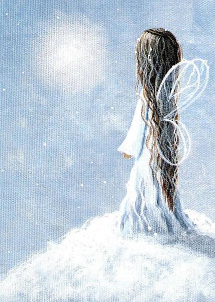 Wall Art - Painting - Original Fairy Paintings by Erback Art