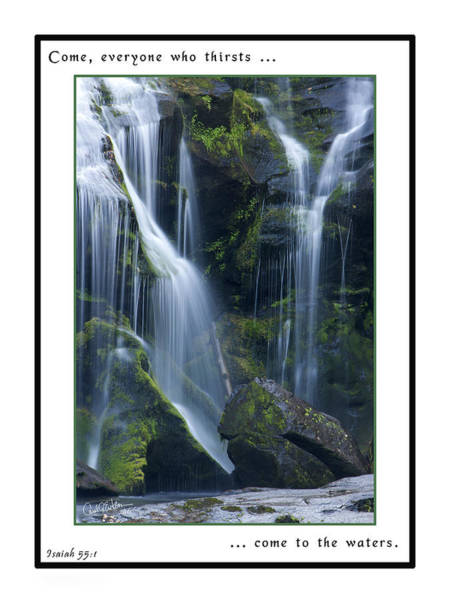 Photograph - Living Water by Carol Erikson