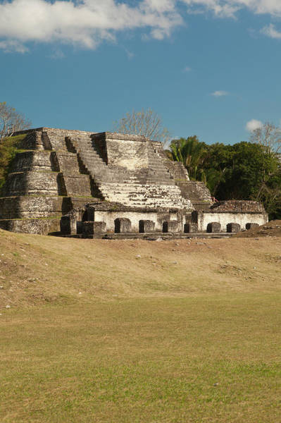 Edifice Photograph - Located 30 Miles From Belize City by Michele Benoy Westmorland