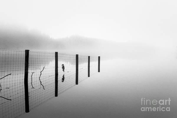 Loch Ard Photograph - Loch Ard Early Mist by John Farnan