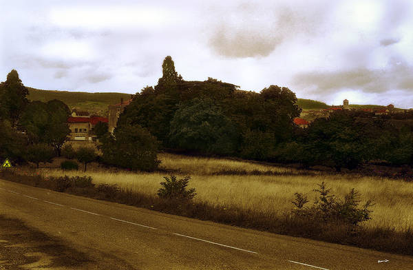 Houses Wall Art - Photograph - Loire Valley Road by Madeline Ellis