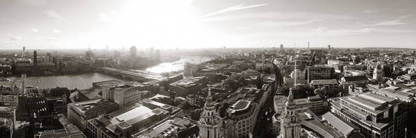 Wall Art - Photograph - London City Rooftop by Songquan Deng