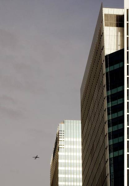 Financial Centre Photograph - London Docklands Skyscrapers by Carlos Dominguez