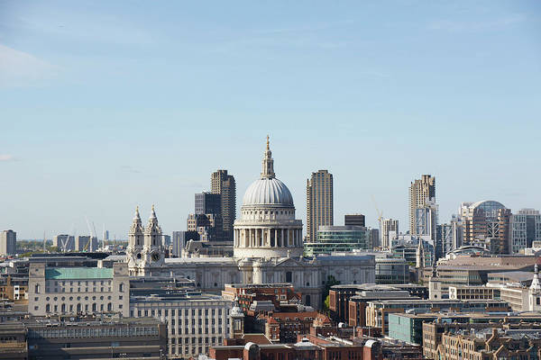 St Michaels Church Photograph - London Skyline And Landmarks by Michael Blann