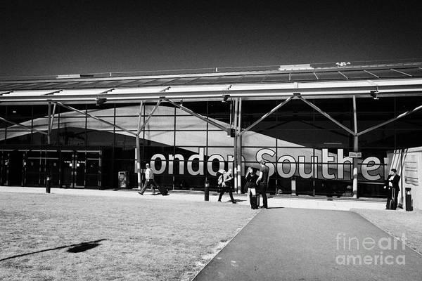 Southend Photograph - London Southend Airport England Uk by Joe Fox