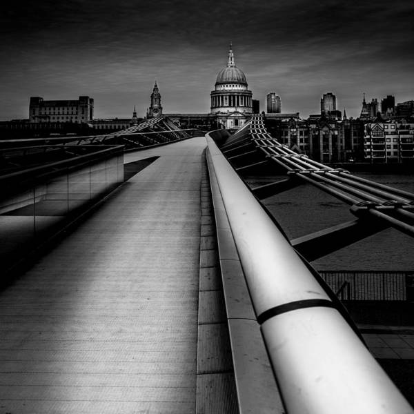 London St.paul's Cathedral Art Print by S J Bryant
