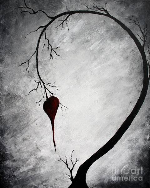 Wall Art - Painting - Lonely Heart by Michael Grubb