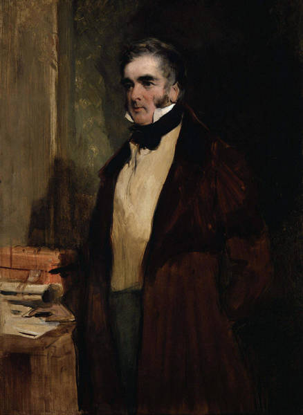 Wall Art - Painting - Lord William Lamb (1779-1848) by Granger