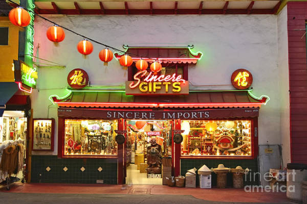 Chinese New Year Photograph - Los Angeles Chinatown Plaza. by Jamie Pham