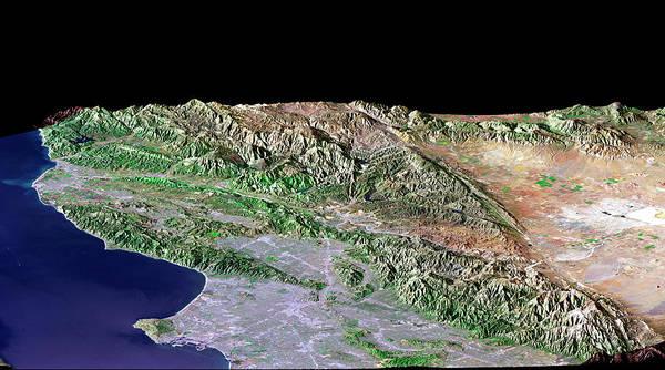 Wall Art - Photograph - Los Angeles by Nasa/science Photo Library