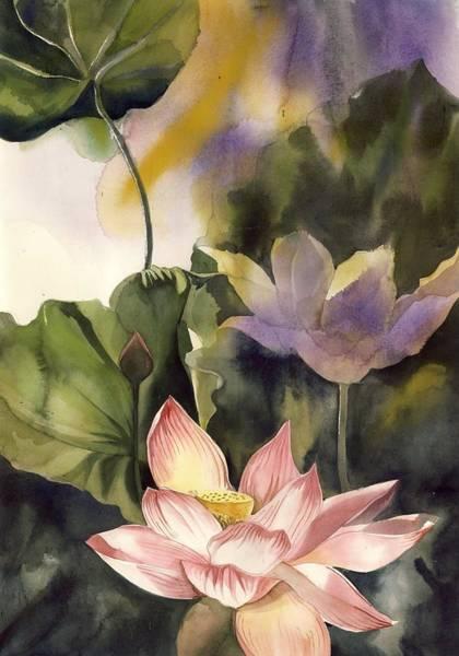 Painting - Lotus by Alfred Ng