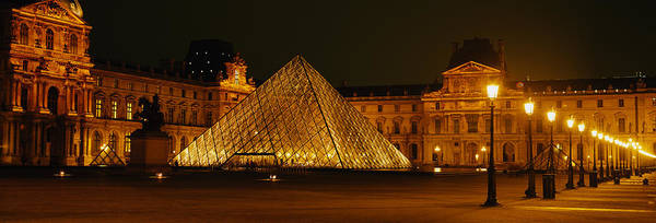 Historic Triangle Photograph - Louvre Paris France by Panoramic Images