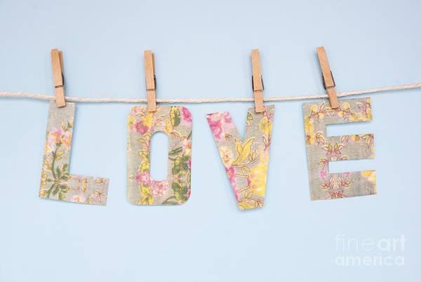 Photograph - Love Banner by Ian Hooton