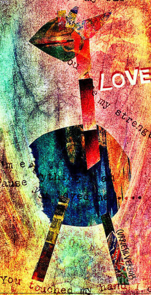 Wall Art - Digital Art - Love by Currie Silver