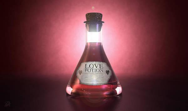Chemistry Digital Art - Love Potion by Allan Swart