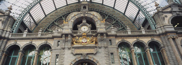 Antwerp Photograph - Low Angle View Of A Building, Antwerp by Panoramic Images