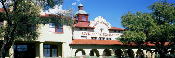 Live Stock Photograph - Low Angle View Of A Stock Exchange by Panoramic Images