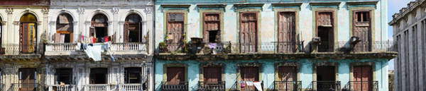 Wall Art - Photograph - Low Angle View Of Buildings, Havana by Panoramic Images