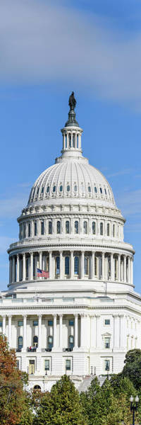 Wall Art - Photograph - Low Angle View Of Capitol Building by Panoramic Images