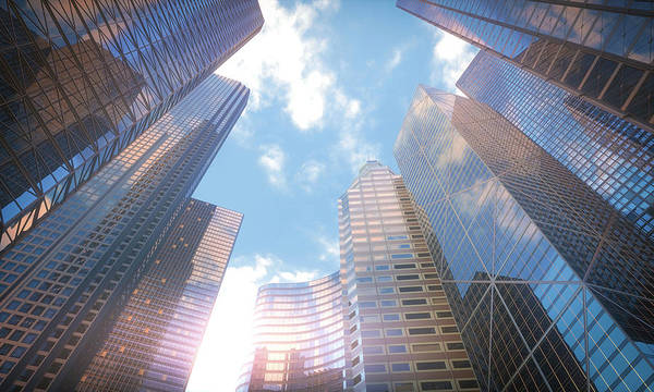 Wall Art - Photograph - Low Angle View Of Skyscrapers by Ktsdesign/science Photo Library