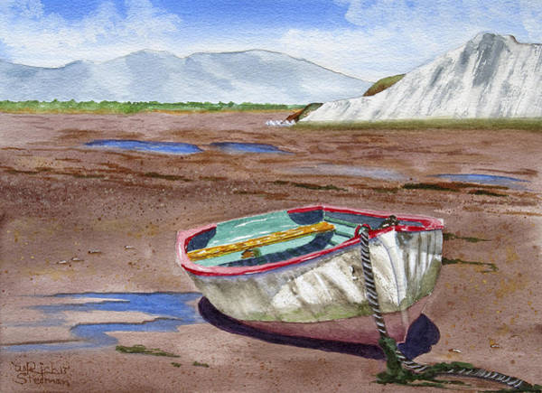 Painting - Low Tide by Rich Stedman