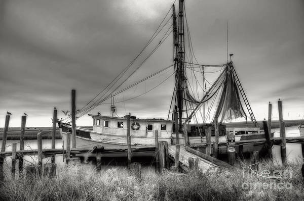 South Atlantic Wall Art - Photograph - Lowcountry Shrimp Boat by Scott Hansen