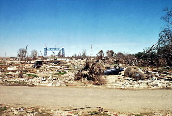 Lower Ninth Ward Photograph - The Great Flood by William Morgan